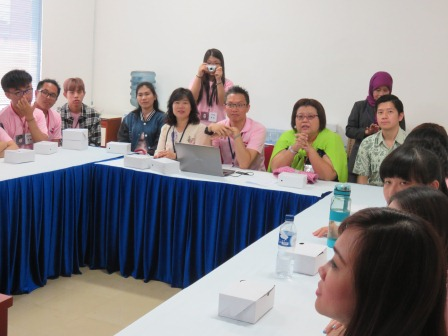 Kunjungan Universitas Taiwan
