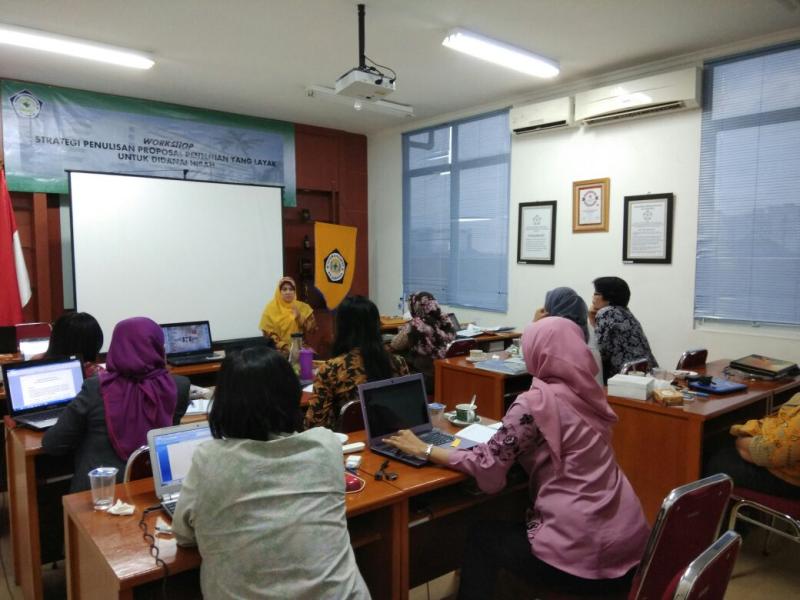 Workshop Proposal Penelitian yang Layak Untuk Didanai Hibah
